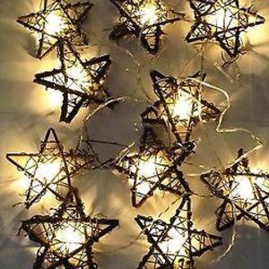 Rattan Star Light Strand